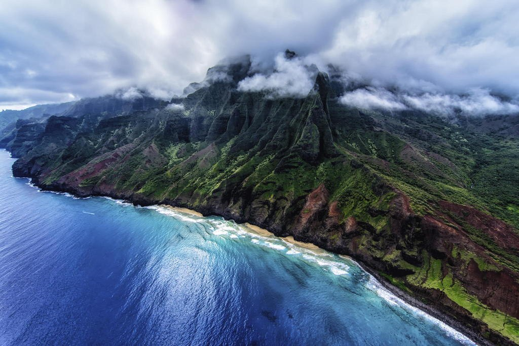 on-Pali Coast, Hawaii